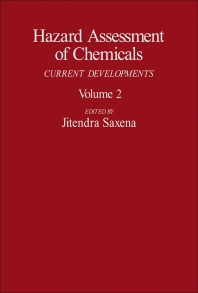 Hazard Assessment of Chemicals - 1st Edition - ISBN: 9780123124029, 9781483261898