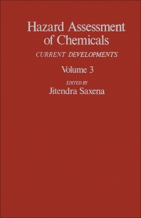 Hazard Assessment of Chemicals - 1st Edition - ISBN: 9780123124036, 9781483261850