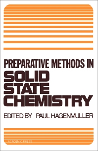 Preparative Methods in Solid State Chemistry - 1st Edition - ISBN: 9780123133502, 9780323144360