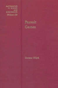 Pursuit Games - 1st Edition - ISBN: 9780123172600, 9780080956299