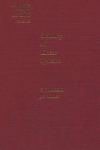 Stability of Linear Systems: Some Aspects of Kinematic Similarity - 1st Edition - ISBN: 9780123282507, 9780080956619