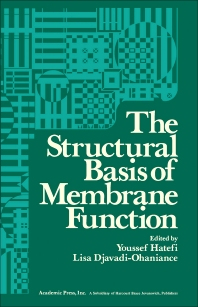 The Structural Basis of Membrane Function - 1st Edition - ISBN: 9780123324504, 9780323148023