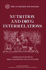 Nutrition and Drug Interrelations - 1st Edition - ISBN: 9780123325501, 9780323141970