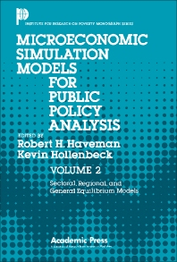 Sectoral, Regional, and General Equilibrium Models - 1st Edition - ISBN: 9780123332028, 9781483264158