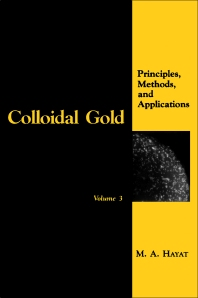 Cover image for Colloidal Gold