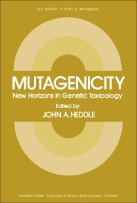 Mutagenicity - 1st Edition - ISBN: 9780123361806, 9781483271224