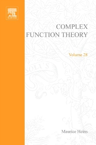 Complex function theory - 1st Edition - ISBN: 9780123379504, 9780080873404