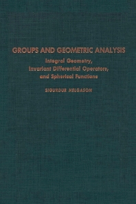 Cover image for Groups & Geometric Analysis