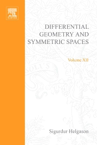 Differential geometry and symmetric spaces - 1st Edition - ISBN: 9780123384508, 9780080873244