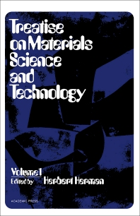 Treatise on Materials Science and Technology - 1st Edition - ISBN: 9780123418012, 9781483218106
