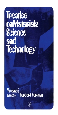Cover image for Treatise on Materials Science and Technology