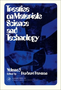 Treatise on Materials Science and Technology - 1st Edition - ISBN: 9780123418050, 9781483218144