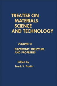 Electronic Structure and Properties - 1st Edition - ISBN: 9780123418210, 9781483218274