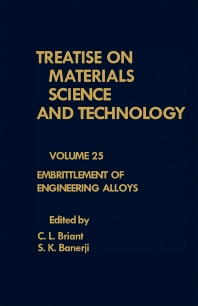 Embrittlement of Engineering Alloys - 1st Edition - ISBN: 9780123418258, 9781483288659
