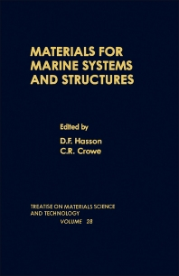 Materials for Marine Systems and Structures - 1st Edition - ISBN: 9780123418289, 9781483218328