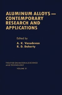 Aluminum Alloys--Contemporary Research and Applications - 1st Edition - ISBN: 9780123418319, 9780323140232