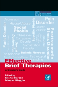 Effective Brief Therapies, 1st Edition,Michel Hersen,Maryka Biaggio,ISBN9780123435309