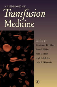 Handbook of Transfusion Medicine - 1st Edition - ISBN: 9780123487759, 9780080533254