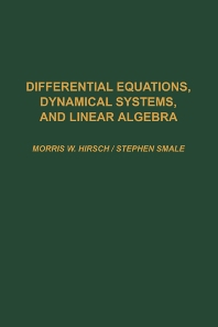 Cover image for Differential Equations, Dynamical Systems, and Linear Algebra