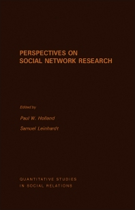 Perspectives on Social Network Research - 1st Edition - ISBN: 9780123525505, 9781483260501
