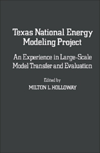 Texas National Energy Modeling Project - 1st Edition - ISBN: 9780123529503, 9781483260907