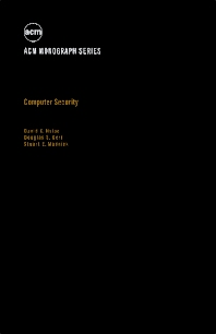 Computer Security - 1st Edition - ISBN: 9780123576507, 9781483218373