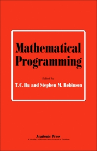 Mathematical Programming - 1st Edition - ISBN: 9780123583505, 9781483260792