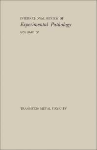 Transition Metal Toxicity - 1st Edition - ISBN: 9780123649317, 9781483218403
