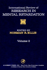 International Review of Research in Mental Retardation - 1st Edition - ISBN: 9780123662026, 9780080857800