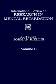 International Review of Research in Mental Retardation - 1st Edition - ISBN: 9780123662118, 9780080857893
