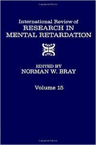 International Review of Research in Mental Retardation - 1st Edition - ISBN: 9780123662156, 9780080857930