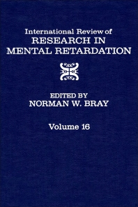 International Review of Research in Mental Retardation - 1st Edition - ISBN: 9780123662163, 9780080857947