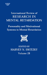 International Review of Research in Mental Retardation, 1st Edition,Laraine Glidden,Harvey Switzky,ISBN9780123662286