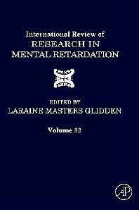 International Review of Research in Mental Retardation, 1st Edition,Laraine Glidden,ISBN9780123662323