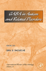 Cover image for Gaba in Autism and Related Disorders