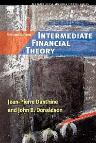 Intermediate Financial Theory, 2nd Edition,Jean-Pierre Danthine,John Donaldson,ISBN9780123693808