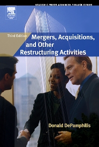 Mergers, Acquisitions, and Other Restructuring Activities - 3rd Edition - ISBN: 9780123694034, 9780080511436