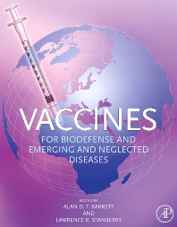 Cover image for Vaccines for Biodefense and Emerging and Neglected Diseases