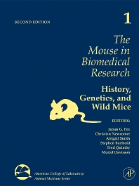 Cover image for The Mouse in Biomedical Research