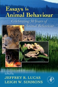 Cover image for Essays in Animal Behaviour