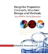 Drug-like Properties:  Concepts, Structure Design and Methods, 1st Edition,Edward Kerns,Li Di,ISBN9780123695208