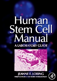 Cover image for Human Stem Cell Manual