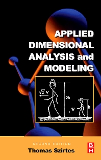 Cover image for Applied Dimensional Analysis and Modeling