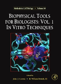 Biophysical Tools for Biologists, 1st Edition,John Correia,H. Detrich, III,ISBN9780123725202
