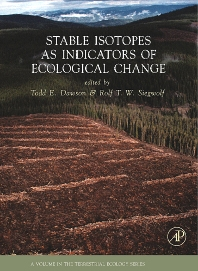 Cover image for Stable Isotopes as Indicators of Ecological Change