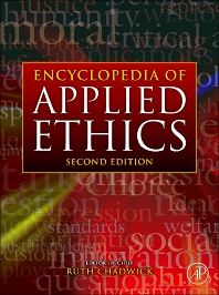 Cover image for Encyclopedia of Applied Ethics
