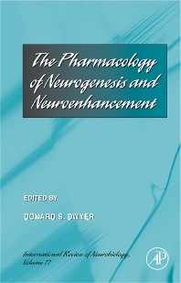 Cover image for The Pharmacology of Neurogenesis and Neuroenhancement
