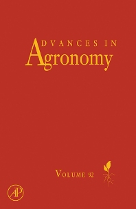 Advances in Agronomy, 1st Edition,Donald L Sparks,ISBN9780123736864