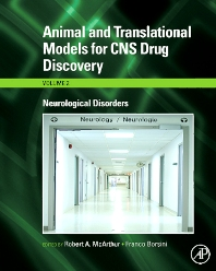 Cover image for Animal and Translational Models for CNS Drug Discovery: Neurological Disorders