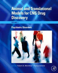 Cover image for Animal and Translational Models for CNS Drug Discovery: Psychiatric Disorders